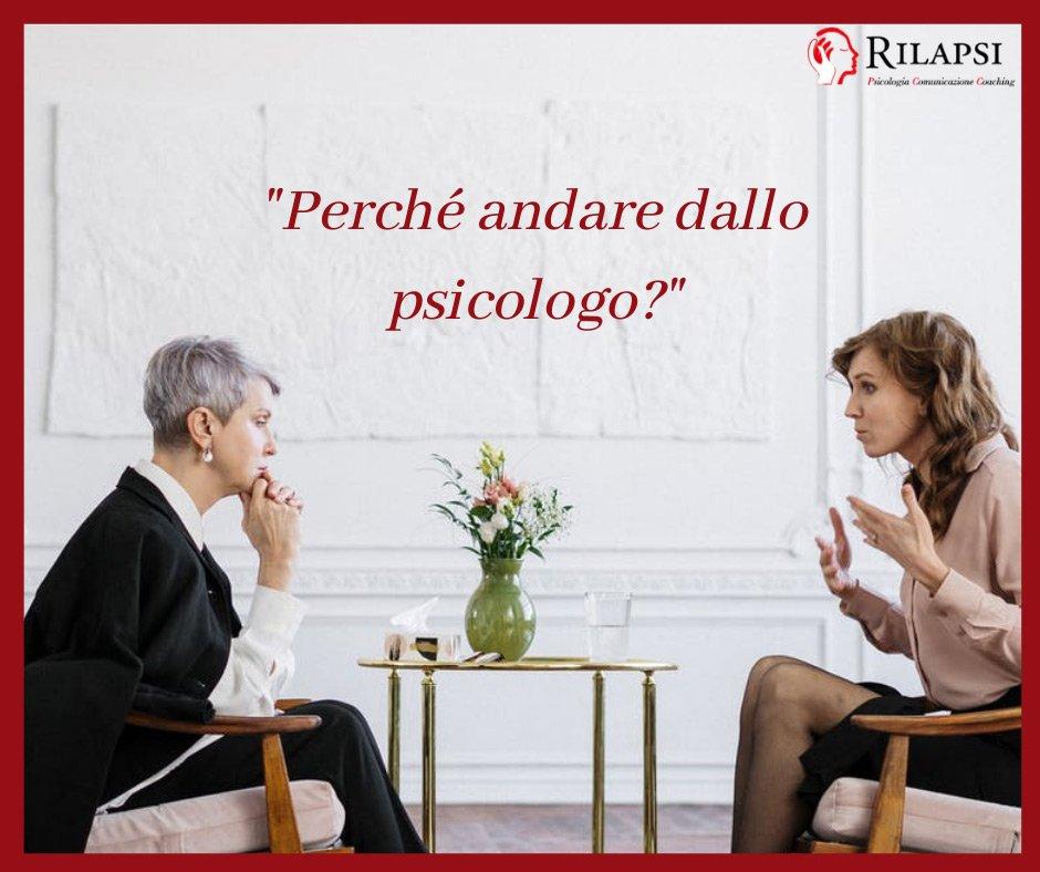 Perchè andare dallo psocologo?